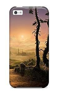 JBaFXwD3619zFZKo Case Cover Fantasy Landscape Iphone 5c Protective Case