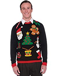 Amazoncom Ugly Christmas Sweaters More Clothing Shoes Jewelry