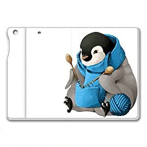 IPad Air 1 Case,IPad Air 1 Case, IPad Air 1 retina case ,Knitting penguin Custom IPad Air 1 retina High-grade leather Cases by ruishername