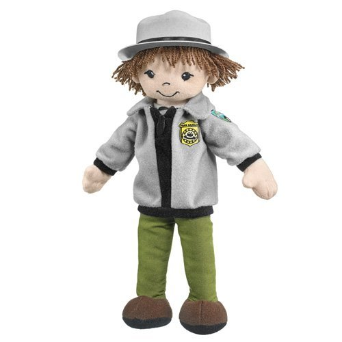 """Wildlife Artists Park Ranger Male Doll Plush Toy 11"""" H from Wildlife Artists"""