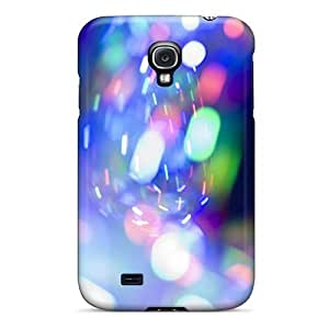 [dTE1626NyTF] - New Swirling Lights 4 Protective Galaxy S4 Classic Hardshell Case