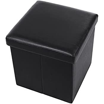 Amazoncom Fsobellaleo Home Foldable Storage Ottoman Foot Rest