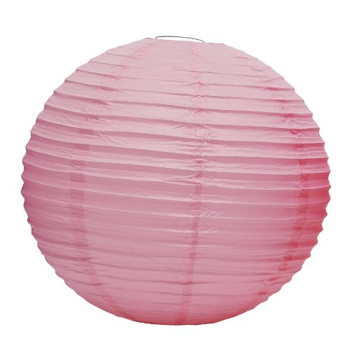 Weddingstar Round Paper Lantern, Small, Pastel Pink Weddingstar Inc. 9108-05