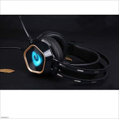 Yingui Computer Headset, Volume Control, with Microphone, Earmuffs, Wired Stereo Enhanced Bass Noise Reduction, PC Laptop Gaming Headset by Yingui (Image #4)