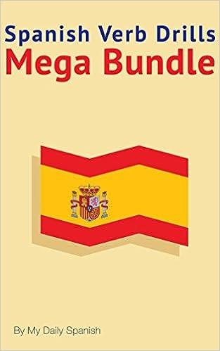 Livres audio téléchargeables gratuitement pour mp3Spanish Verb Drills Mega Bundle: Spanish Verbs Conjugation - with no memorization! (Spanish Edition) in French PDF MOBI