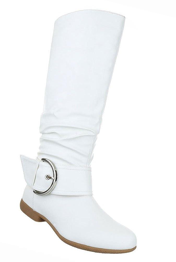 Damen Schuhe Stiefel Stiefel Stiefel Leicht Gefütterte Weiss ad0a8d