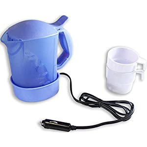 ToolUSA 12v Portable Water-boiling Pot With 2 Cups: TA-27475