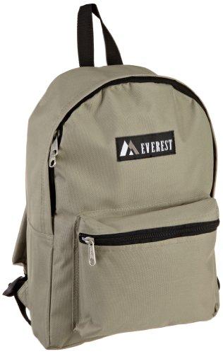 Everest Luggage Basic Backpack, Khaki, Medium (Backpack Dollar)