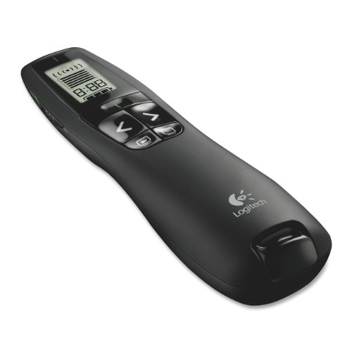 Logitech Professional Presenter R800, Presentation Wireless Presenter with Laser Pointer Green by Logitech