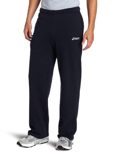 Asics Men's Fleece Pant, Navy, Large