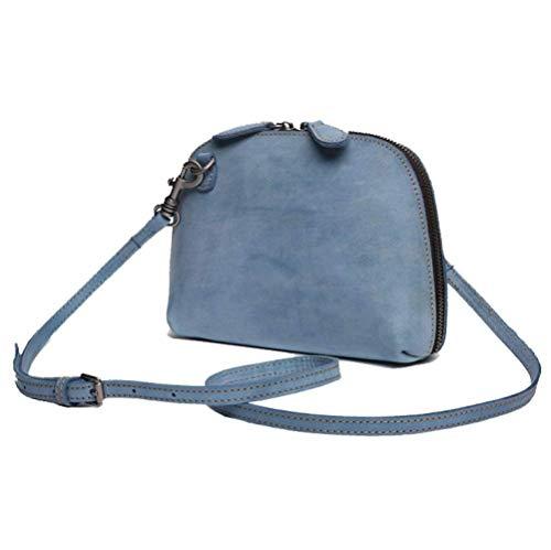 Tamaño Tamaño Tendencia Temperamento Elegancia Informal Un color Mujeres Eeayyygch Azul Bag Púrpura Moda Bolso Messenger q8xYwOP