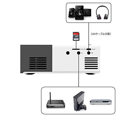 Mini projector artlii 1080p portable led pocket projector for Best mini projector for powerpoint presentations