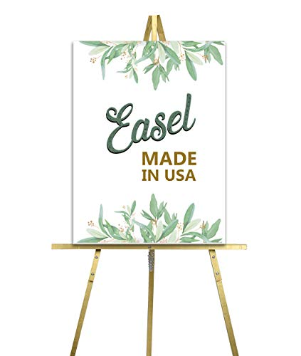 - Lucia and Luciana Wedding easels for Signs, Easel for Wedding Welcome Sign, Black Easel Stand for Wedding | Made in The USA