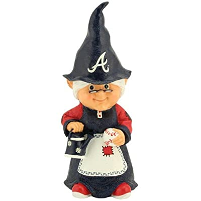 Amazoncom Atlanta Braves Female Garden Gnome Stepping Stones