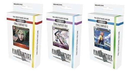 Amazon.com: Final Fantasy Trading Card Game Conjunto de 3 ...