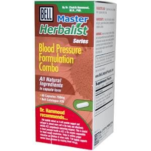 Bell Lifestyle Products Healthy Blood Pressure Support - 60 Capsules