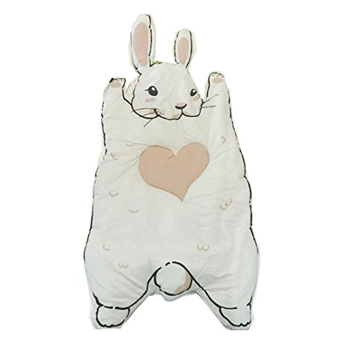 SODIAL Baby cartoon rabbit game baby crawling mat home children 's decorative cotton soft mat room decorative mats by SODIAL