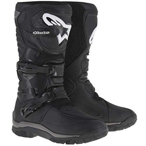 Alpinestars Corozal Adventure Drystar Men's Motorcycle Touring Boots (Black, US Size 11)