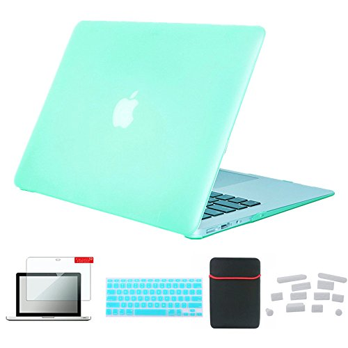 Se7enline 2010 2011 2012 MacBook Pro Case Colorful Plastic Hard Shell Case Cover for MacBook Pro 15 inch A1286 with DVD Drive with Sleeve Bag, Keyboard Cover, Screen Protector, Dust - Box Bezel