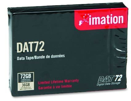 3 Pack Tape, 4mm DDS-5, 170m, 36/72GB, DAT 72, DDS 4MM TAPE, 170 METER DDS-5 DAT72 by Imation