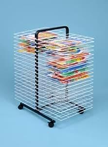 40 estante funda para pintura rack-large de secado/secador de pintura para niños: Amazon.es: Juguetes y juegos