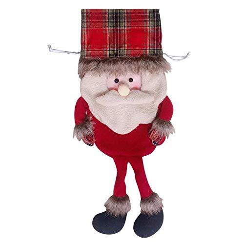 - Santa Claus Sock Gift Kids Candy Bag Christmas Stockings Xmas Noel Decoration for Home Christmas Tree Ornaments 01