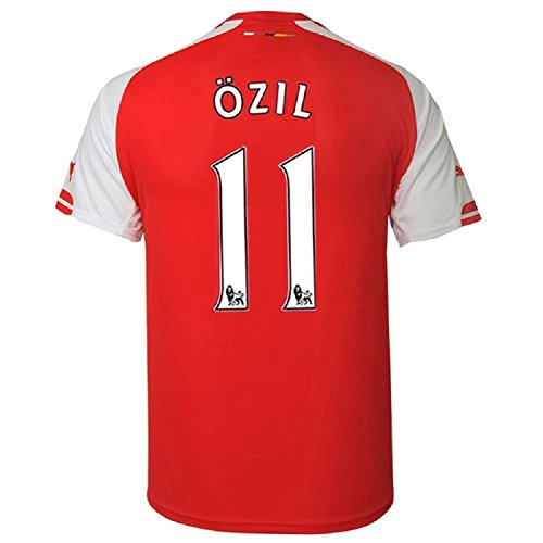Puma Ozil # 11 Arsenal Home Jersey 2014/15 (XL)