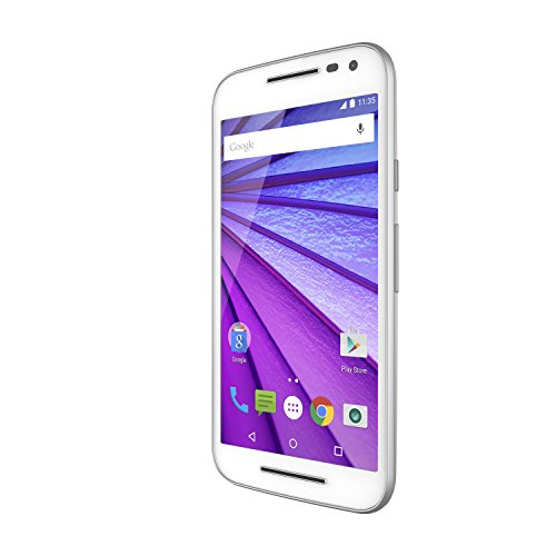 Motorola Moto G (3rd Generation) – White- 8 GB – Global GSM Unlocked Phone Top Deals