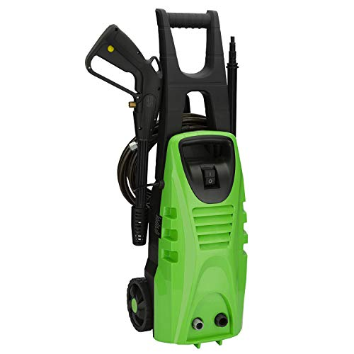 NONMON Electric High Pressure Washer 2030 PSI, Power Pressure Clean Machine with Accessories 5-in-1 Spray Nozzle - Green (Pressure Washers 110v)