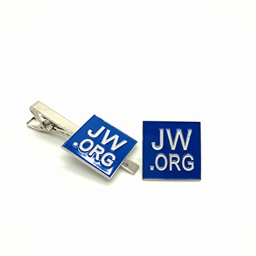 Perfect Present Jw org Necktie Set Square Box Blue product image