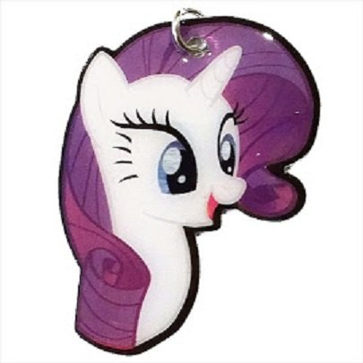 My Little Pony Costume For Dogs (2015 Series 2 My Little Pony Dog Tag - #5 - Rarity (shaped))