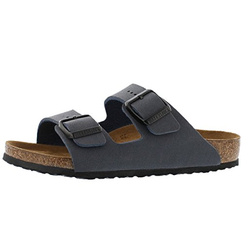 Birkenstock Sandals ''Arizona Kids'' from Birko-Flor in navy 33.0 EU N