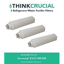3 Samsung DA29-00020B (RFC0700A) Refrigerator Water Purifier Filter Fits Samsung DA-9708006A, DA-97-08006A-B, DA-97-08006B, DA29-00019A, DA29-00020A, DA29-00020B, DA2900019A, DA2900020A, DA2900020B, DA97-08006A-B, Wss-2, WF294, 6027A, Kenmore 46-9101