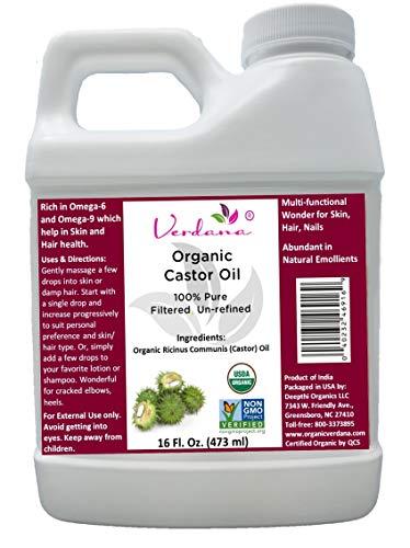 Verdana Castor Oil 16