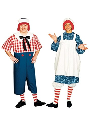 Raggedy Andy and Raggedy Ann Couples Costumes]()