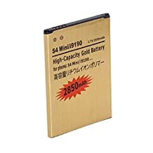 2850mAh Gold Replacement Battery For Samsung Galaxy S4 Mini i9190