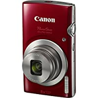 Canon PowerShot ELPH 180 20MP 8x Zoom Digital Camera (Red) + 16GB Card + Reader + Case + Accessory Bundle from The Imaging World