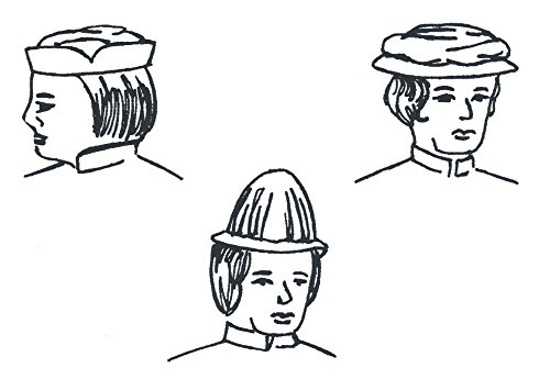 14th through 16th Century Men's Headwear Pattern - 14th Century Elizabethan Costumes