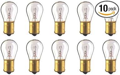 CEC Industries #93 Bulbs 12.8 V BA15s Base Box of 10 S-8 Shape 13.312 W