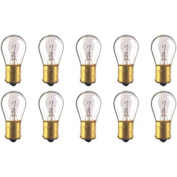 CEC Industries #93 Bulbs, 12.8 V, 13.312 W, BA15s Base, S-8 Shape (Box of 10)