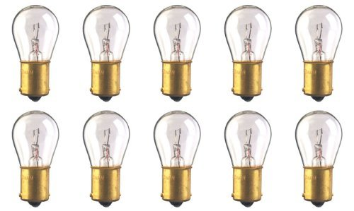 CEC Industries #93 Bulbs, 12.8 V, 13.312 W, BA15s Base, S-8 Shape (Box of 10) (12.8v Automotive Bulb)