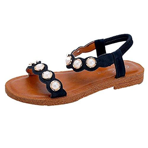 05c8d9b64e60d Challeng Promotion Saisonnière,Sandales Plates,Chaussures,Escarpins,Sandales  d été Femmes