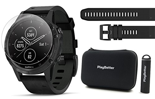 ساعت مچی هوشمند گارمین مدل fenix 5 Plus بهمراه بسته هدیه
