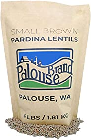 Non-GMO Project Verified Pardina Lentils (Small Brown Lentils) | 4 LBS | 100% Non-Irradiated | Certified Kosher Parve | USA