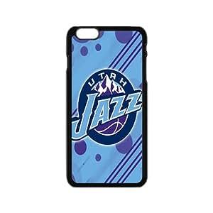 Utah Jazz NBA Black Phone Case for iPhone 6 Case