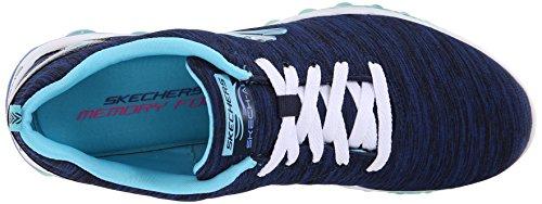 Zapatillas Skechers Sport Mujer Skech Air Sweet Life, Marino / Azul Claro