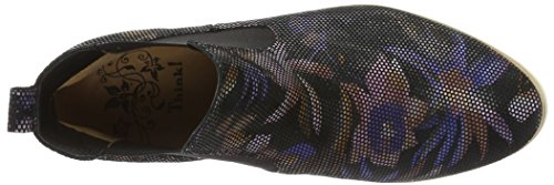 Think! Women's Amoi Chelsea Boots Black (Sz/Kombi 09) 1cwioh0T