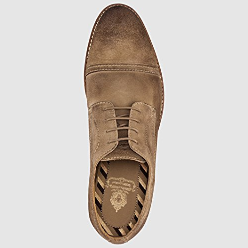 Base London Concoct - Zapatos de cordones derby Hombre Greasy Taupe