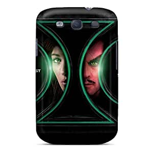 Waterdrop Snap-on 2011 Green Lantern Movie Case For Galaxy S3