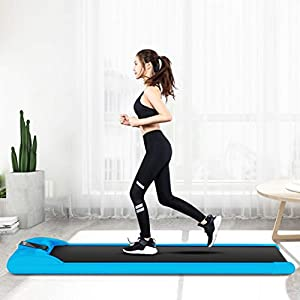 Well-Being-Matters 417Gp38o6lL._SS300_ AceTT Folding Under Desk Treadmill for Home, 220 Lbs Weight Capacity | Foldable Electric Walking Machine w/LCD Display…
